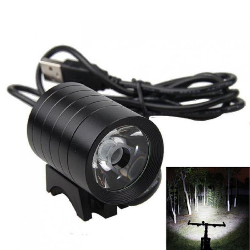 Hot Selling Waterproof 1200LM XM-L L2 T6 USB LED Headlamp Headlight Bicycle Bike Light 4 Mode IP65