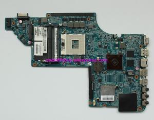 Image 1 - Genuine 665346 001 HM65 w HD6490/1G Scheda Grafica Scheda Madre Del Computer Portatile Mainboard per HP Pavilion DV6 DV6 6000 Serie noteBook PC