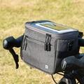 Водонепроницаемая велосипедная сумка для руля велосипеда сумка для рамы велосипеда 4.5л велосипедная Рама сумка для велосипедной корзины д...