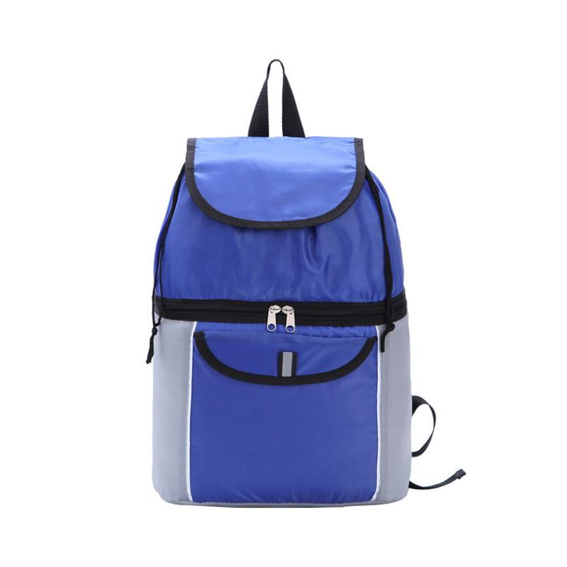 New Simple Multi-function Backpack - Upper and Lower Two-Layer Full-Function Ultra-Light Portable Insulation Backpack