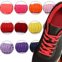 Gray Blue Green Red Yellow White Black Flat Semicircle Canvas Sneaker Shoelaces Running Shoelaces