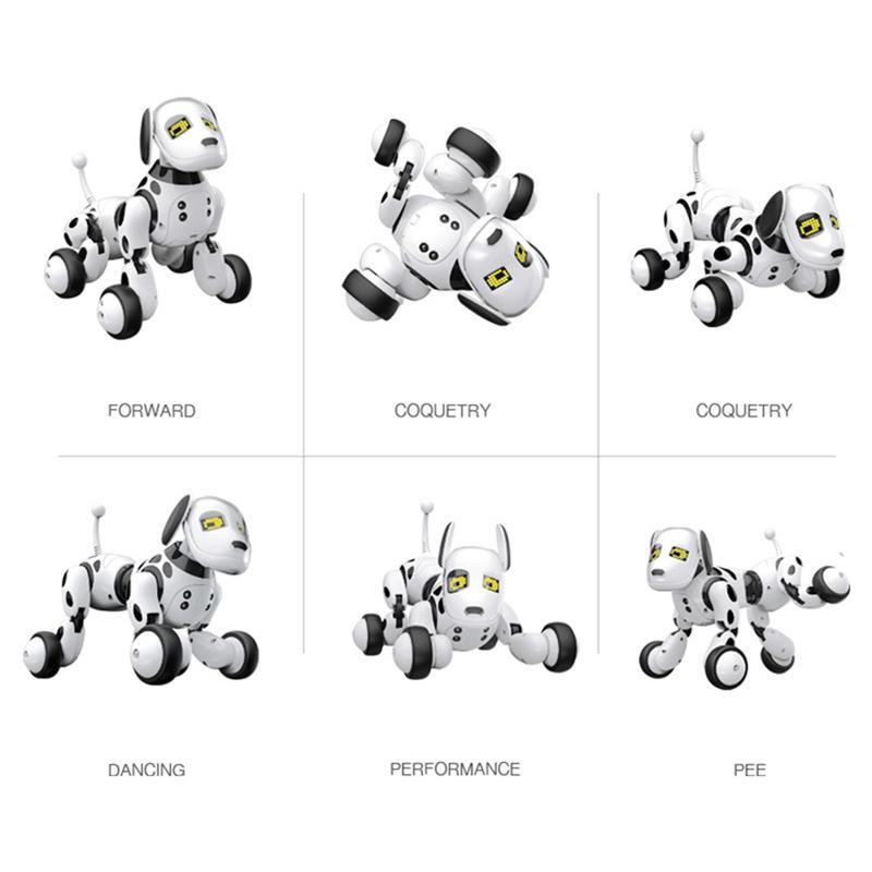 2.4g télécommande sans fil Intelligent Robot chien enfants jouets intelligents parlant chien Robot électronique Pet jouet cadeau d'anniversaire - 5
