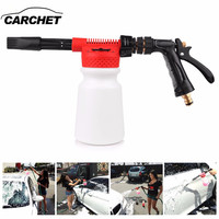 CARCHET Car Washing Foam Gun Car Cleaning Washing Snow Foamer Lance Car Water Soap Shampoo Sprayer Foam Gun for Car Motorcycle