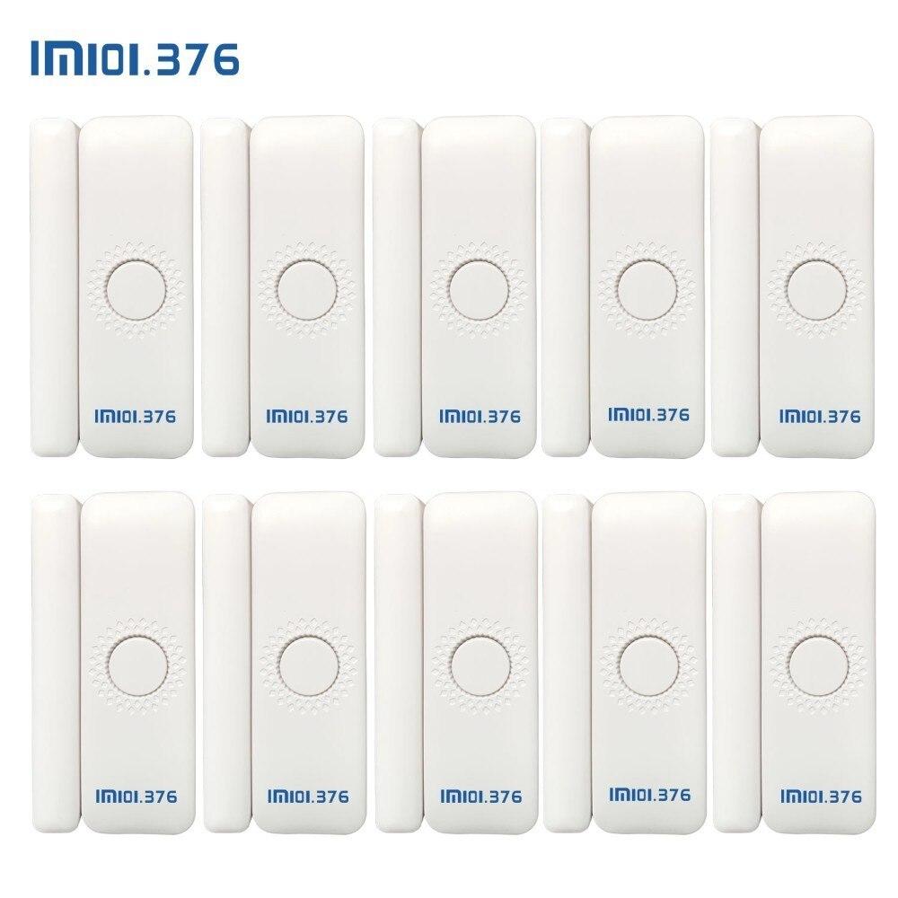 LM101.376 окна магнитный датчик двери детектор портативный сигнализации сенсор s умный дом детекторы беспроводной для ubontoo системы