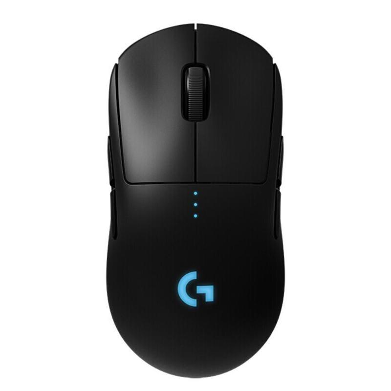 Logitech G Pro Sans Fil Gaming Mouse 16000 DPI rétro-éclairage rgb 8 Programmable Bouton Souris LIGHTSPEED Sans Fil 32-peu BRAS