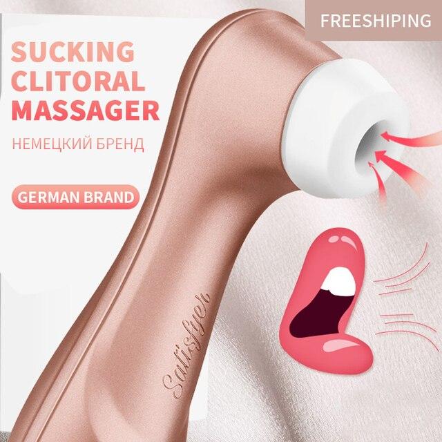German satisfyer pro 2 Sucking Vibrators G spot Clit Stimulation  Vibration Nipple Sucker Erotic Adult Sex women toys clitoral 2