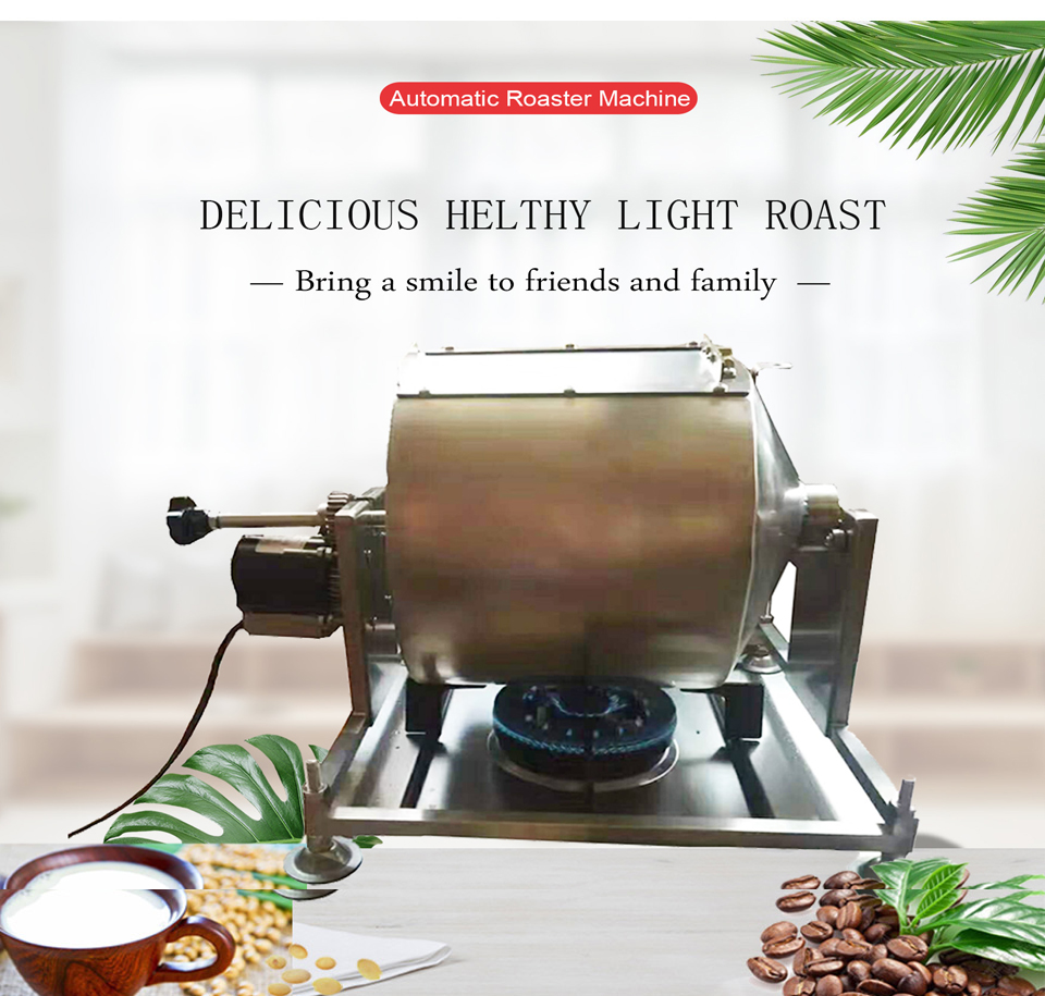 Home and industrial use electric heated mini roasting machine, coffee roaster,  for soy coffer bean