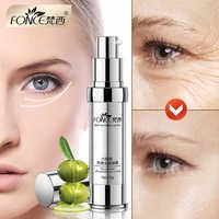 Koreanische Hautpflege Anti Falten Auge Creme Sechs Peptide Serum Anti Aging Entferner Dark Kreis Tasche Straffende nähren auge Balsam maske 20g