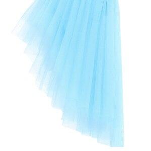 Image 4 - Lady kobiety sukienka baletowa paski Spaghetti Halter cekiny nieregularne Tulle taniec baletowy gimnastyka sukienka trykot trykoty dla kobiet