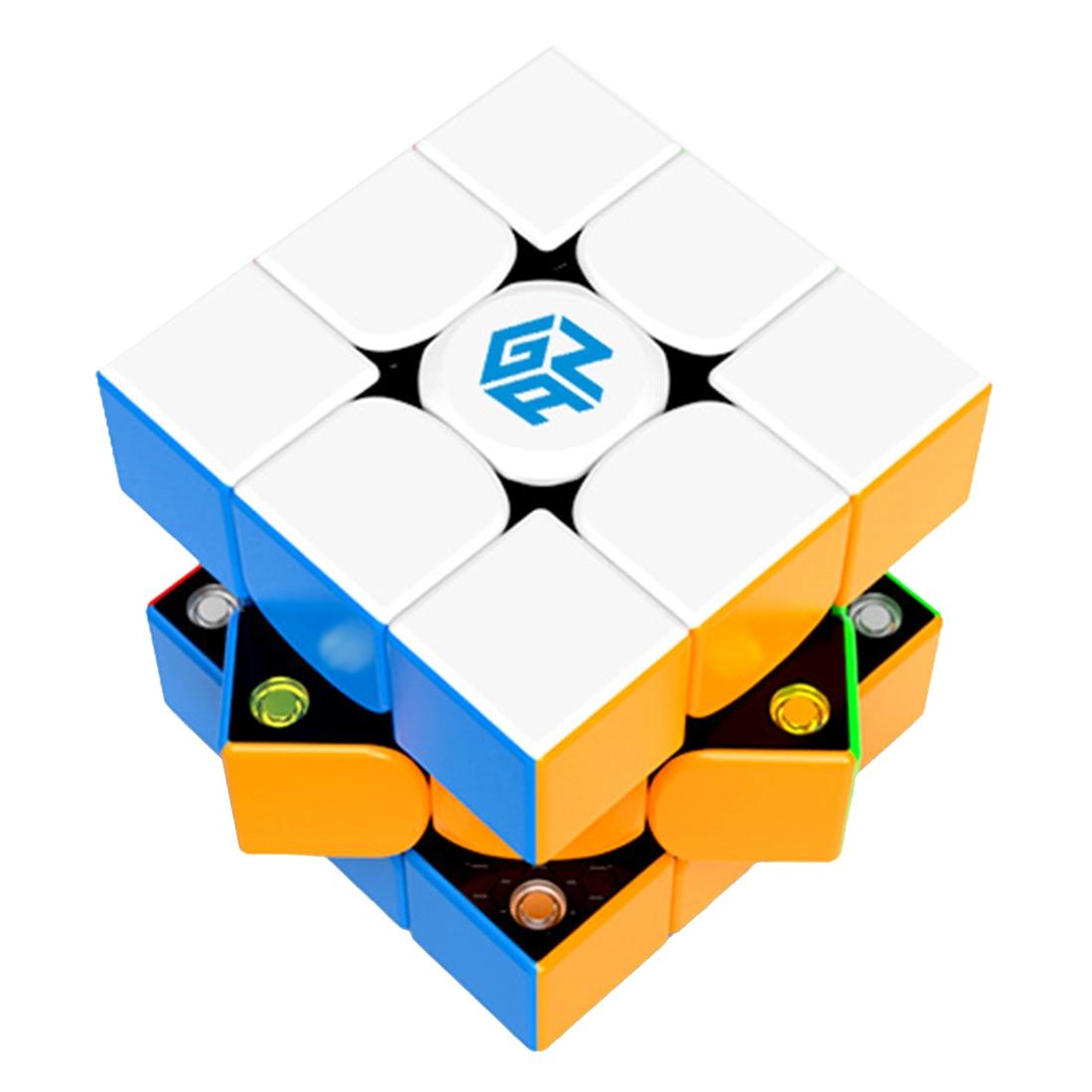GAN354M 3x3x3 Force magnétique Cube magique casse-tête Puzzle jouet-coloré