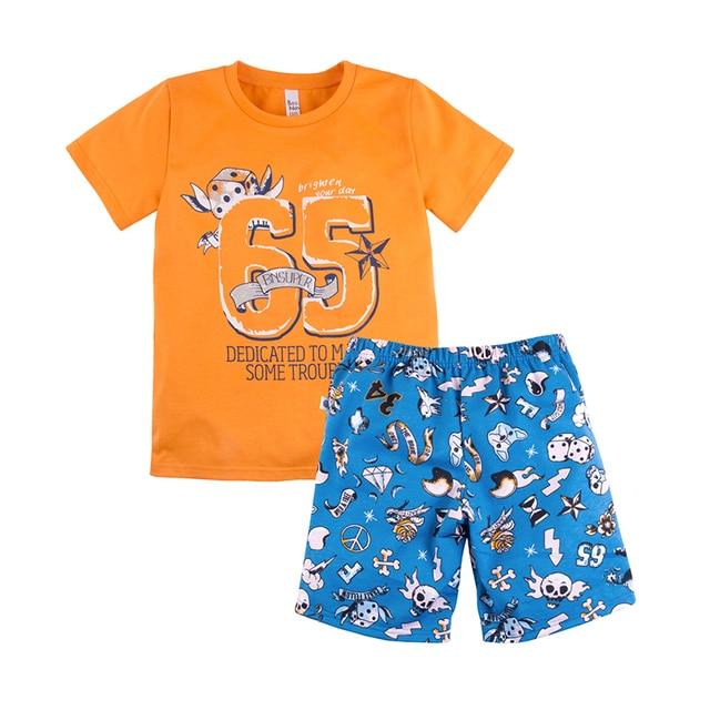 Пижама футболка+шорты для мальчика ''Тату'' BOSSA NOVA 384Б-161ж
