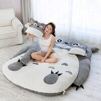 180x120 см Мой сосед Тоторо татами спальный двойной спальный мешок диван для детей теплый мультфильм татами спальный мешок матрас