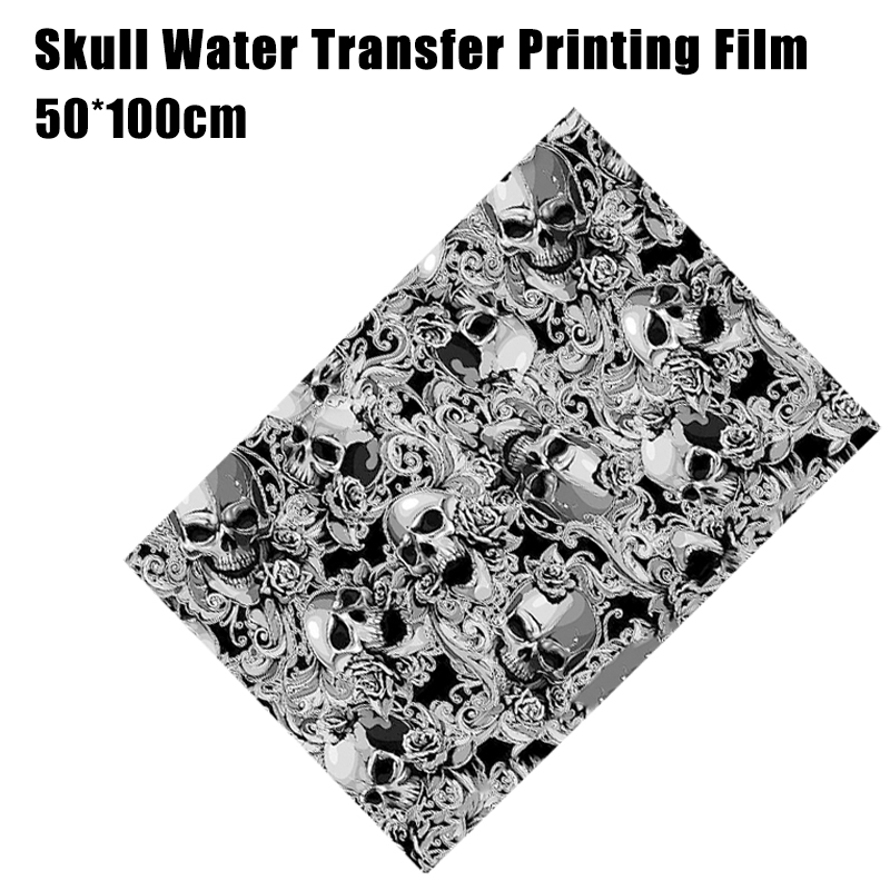 Water Transfer Printing Film Hydrographics Hydro Dipping Decor Kit 0.5*1M