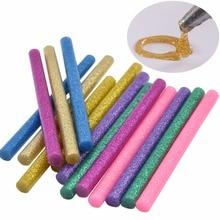 60pcs/set New 12 Color Hot Glue Tool Sticks Hot Melt Glue Sticks Mini DIY Art Craft