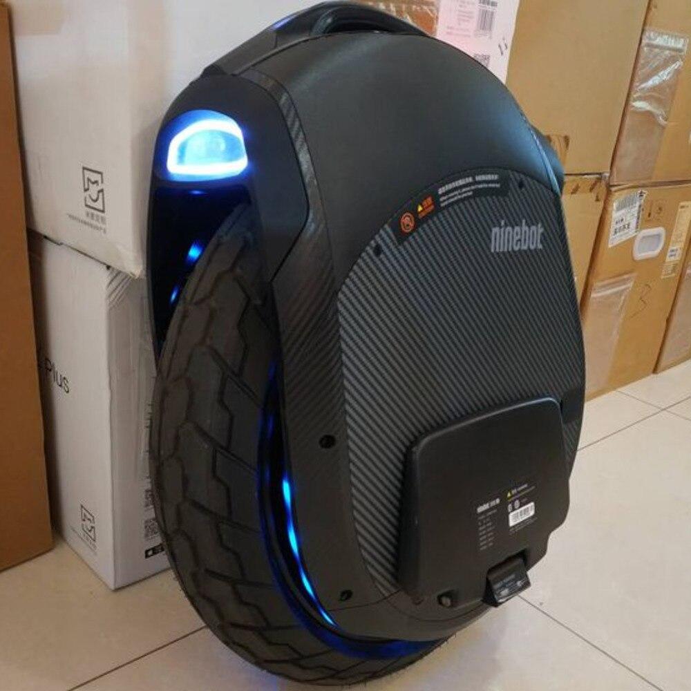 Ninebot 2018 Z10 monocycle électrique Motor1800w, 1000wh, vitesse maximale de 45 km/h, voiture d'équilibre de roue unique hors route App communauté