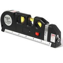 лучшая цена High-precision Level Multi-function Laser Infrared Foot Line Spirit Level Line Cross Line Tape Flat Line Instrument