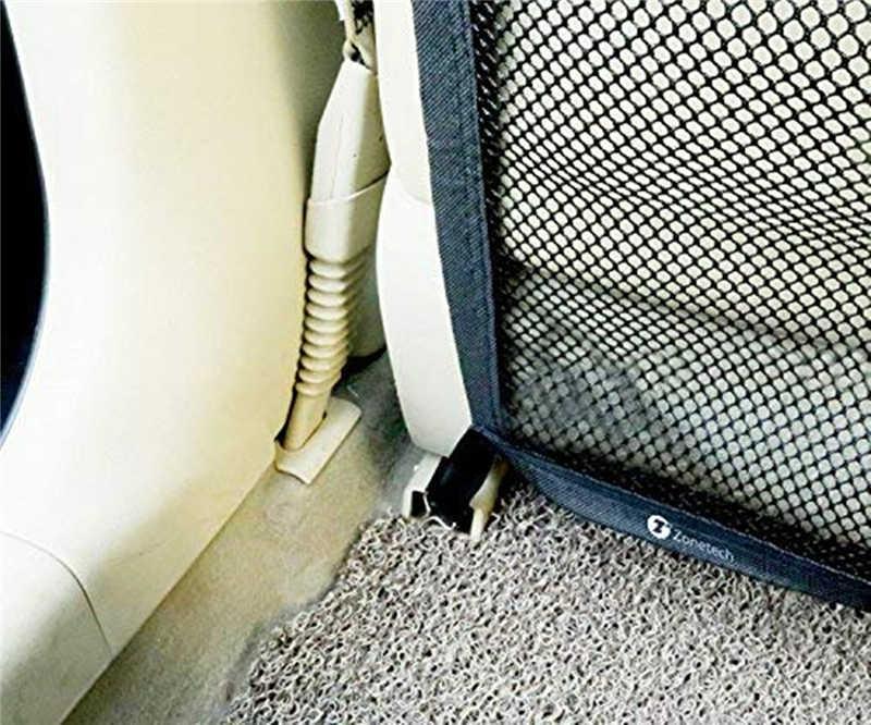 سيارة حاجز للحيوانات الأليفة شبكة الكلب سيارة سلامة السفر العزلة صافي سيارة فان المقعد الخلفي سيارة العزلة صافي شبكة سوداء للكلاب شعبية
