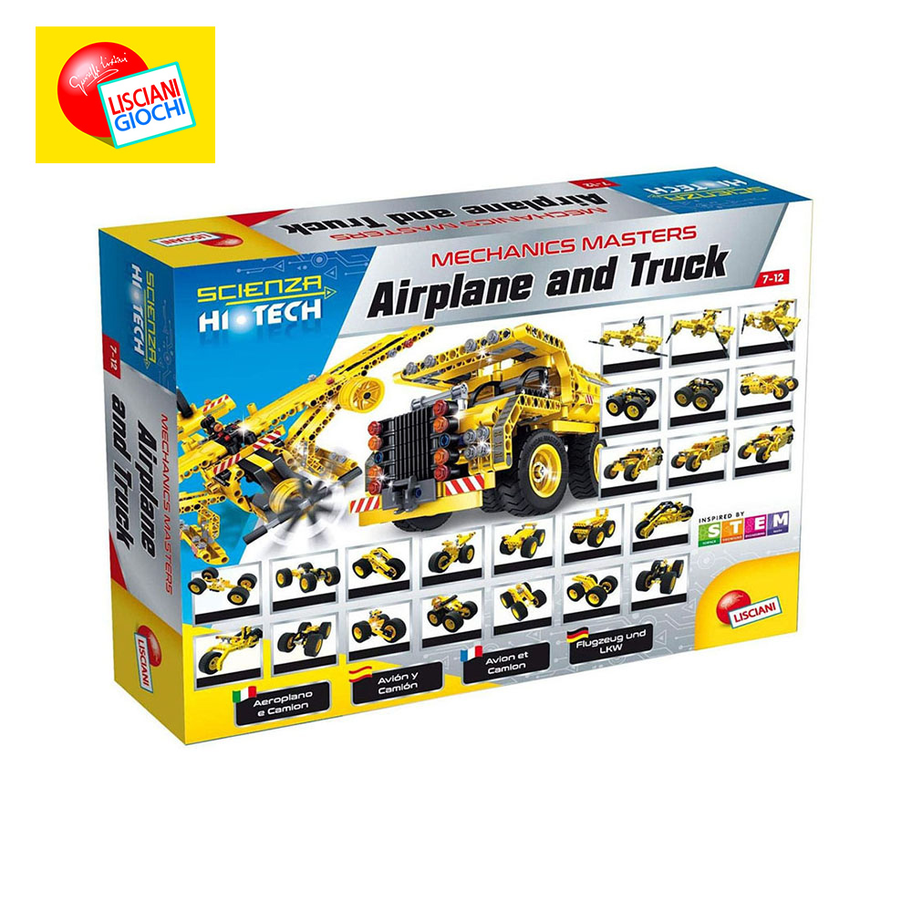 Interconnecting Blocks LISCIANI 66520 Designer Children Sorters Catamino Games Gear Toys Kids Building & Construction Toy in stock lepin 20027 technic mechnical series the container truck educational building blocks bricks children toys clone 8052