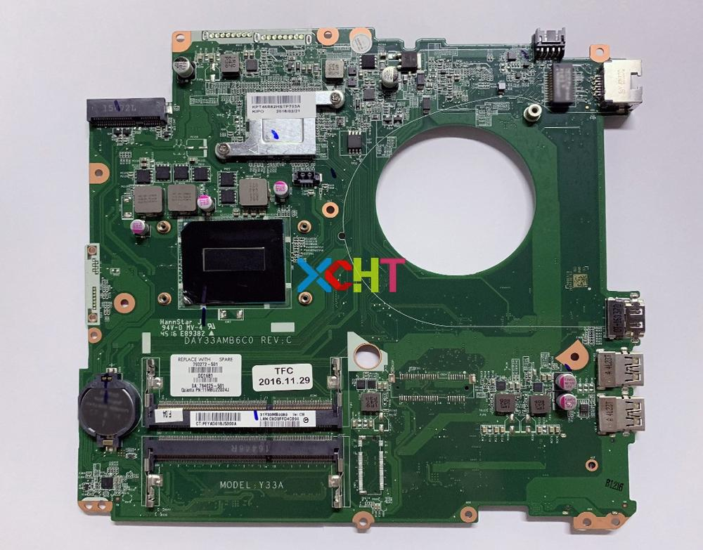 for HP ENVY 17-K 17-K200 793272-501 793272-001 793272-601 UMA i7-4720HQ CPU DAY33AMB6C0 Laptop Motherboard Mainboard Testedfor HP ENVY 17-K 17-K200 793272-501 793272-001 793272-601 UMA i7-4720HQ CPU DAY33AMB6C0 Laptop Motherboard Mainboard Tested