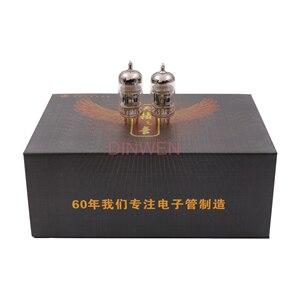 Image 2 - Shuguang Natural Sound 12AT7 T/12AU7 T/12AX7 T Vacuum Tube Replace ECC83 ECC82 12AU7 ECC81 12AT7 6N4 Hifi Audio Tube AMP DIY