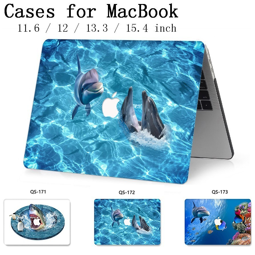 For Laptop Sleeve For Notebook MacBook 13.3 15.4 Inch For MacBook Case Air Pro Retina 11 12 With Screen Protector Keyboard Cove-in Laptop Bags & Cases from Computer & Office