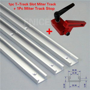 1Set Miter Track Stop And Alum