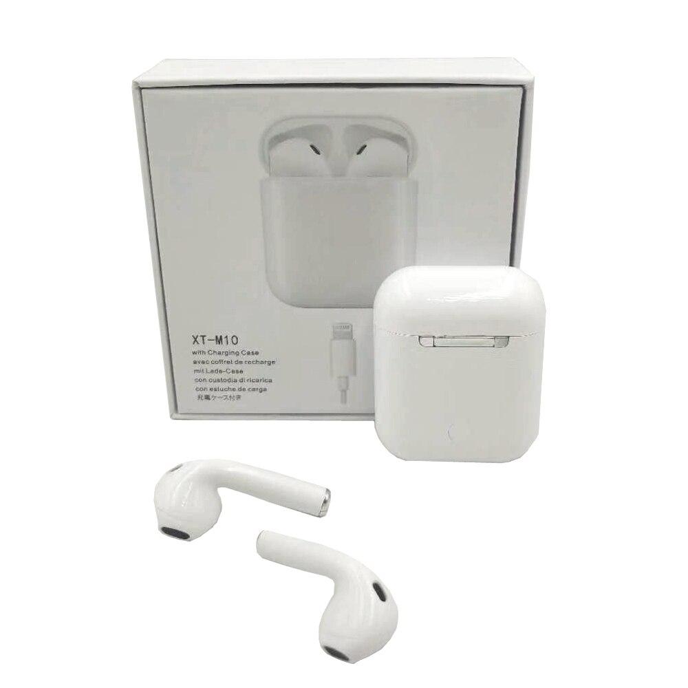 M10 TWS Bluetooth 5.0 écouteurs, oreillettes sans fil Sport Musique Tactile Contrôle Casques mise à niveau par i10 Pour tous les téléphone portable téléphone - 4