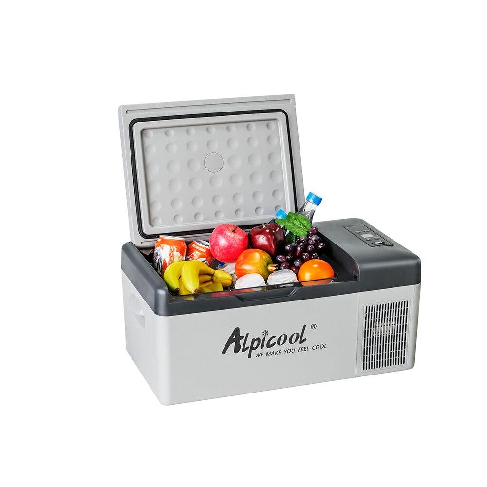 15L 12/24 V Portable Mini réfrigérateur de voiture congélateur Camping bateau caravane Bar Mini pas APP conrtolcompresseur réfrigérateurs pour voiture maison