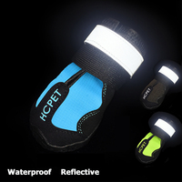 4PCS Waterproof Shoes For Dogs Small Puppy Warm Winter Boot Anti slip Rain Dog Shoes Footwear Dog Waterproof Socks