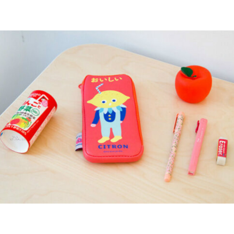 School Pencil Case PU Lovely Cute Cartoon Large Pen Bag For Kids Stationery Coin Purses in Purses Wallets from Luggage Bags