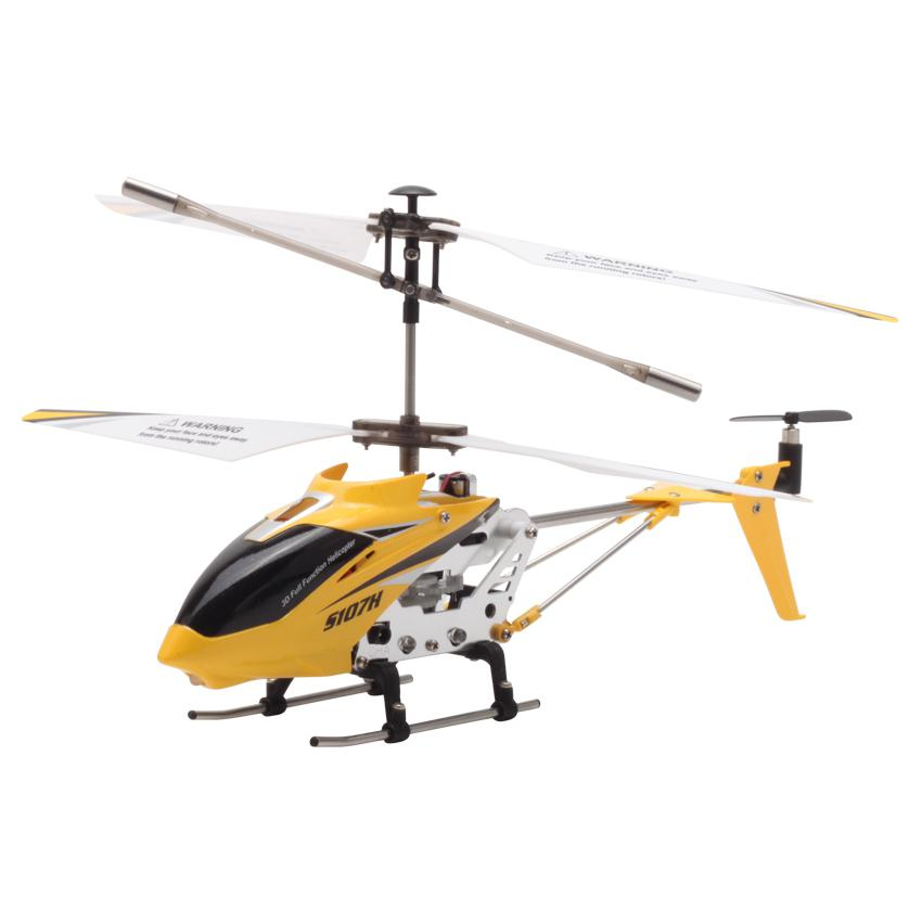 Image 3 - S107H Gyro Metal 2.4G Radio 3.5H Mini Helicopter RC Remote Control Altitude Hold RC Drone Toys Children Birthday Gift-in RC Helicopters from Toys & Hobbies