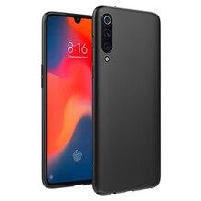 CASEWIN For Xiaomi Mi 9 Mi9 Case Silicone Slim Ultra Thin Light Matte Soft TPU Back Cover MI Phone Shockproof