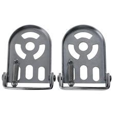 Новые практичные железные велосипедные педали для MTB Нескользящие велосипедные педали подножка платформа противоскользящая велосипедная педаль для езды на велосипеде часть