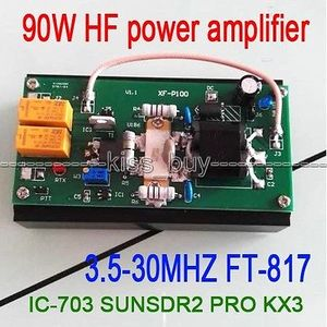 Image 1 - 2016 90W HF Power Amplifier For FT 817 IC 703 transceiver PRO KX3 QRP Ham Radio