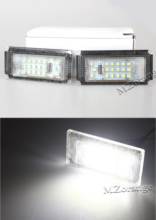 1 pair LED Car Number License Plate Light fit For BMW/MINI COOPER S R50 R53 For BMW E39 5D 5 Door Wagon Touring стоимость