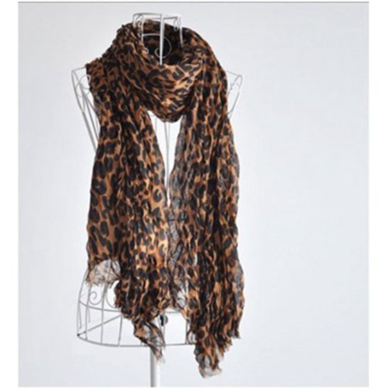 Fashion Leopard Shawl   Scarf     Wrap   for Women