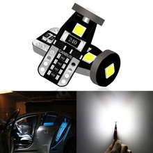 1 Piece T10 W5W 194 168 Led Bulbs Wedge 3030 3smd Interior Lights 12V License Plate Map Trunk Lamp