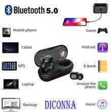 dce0b21473a HOT Single Earphone Mini Bluetooth 5.0 Earbuds Sport True Wireless Bass  Stereo In-Ear Earphone