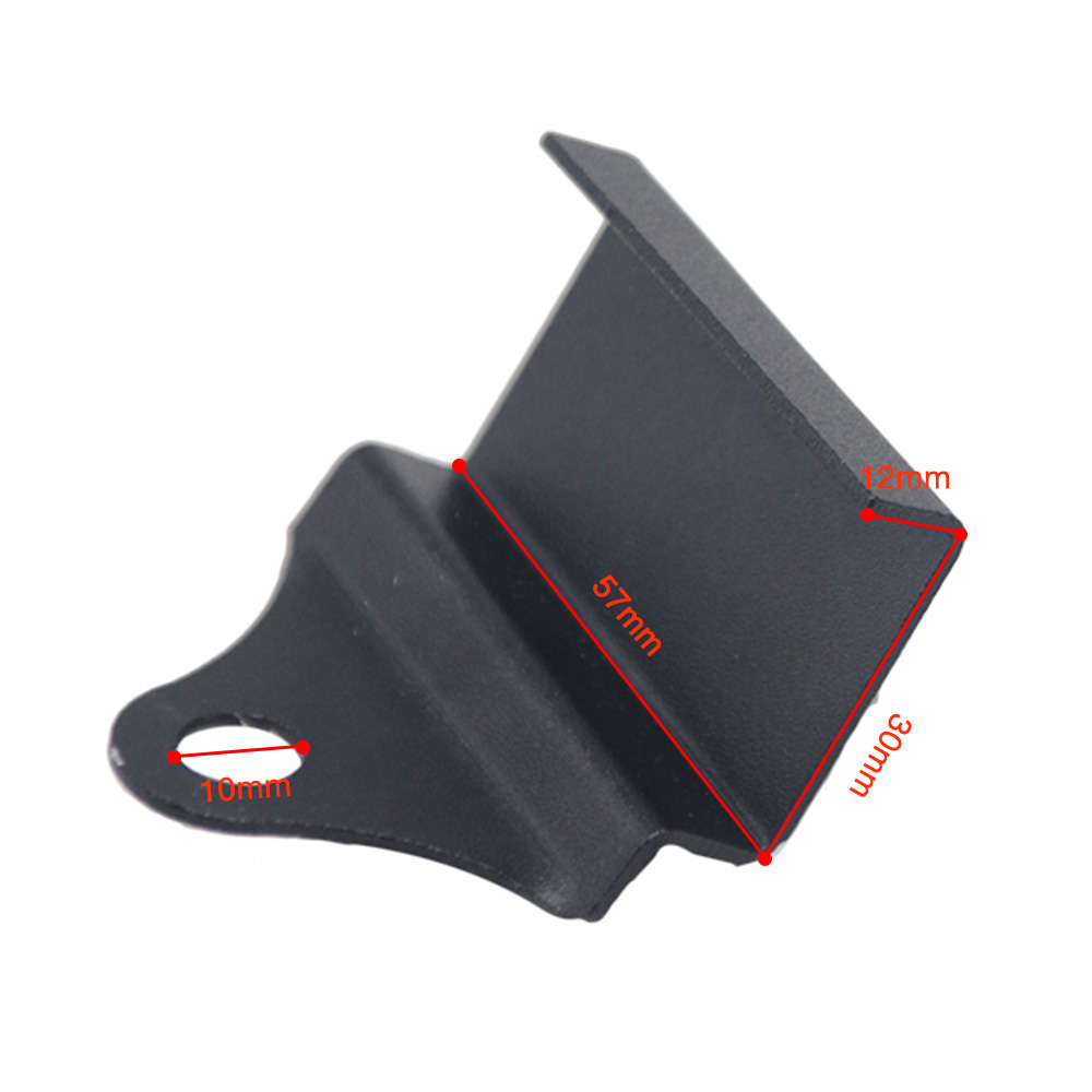 Soporte de montaje universal CNC para Volt/ímetro//Medidor de temperatura del agua//Term/ómetro rojo