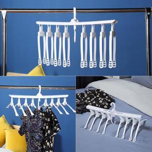 Multi-port Support Clothes Hanger Closet Organizer Rack Multifunction Plastic Scarf Clothes Hangers Hangers Storage Racks
