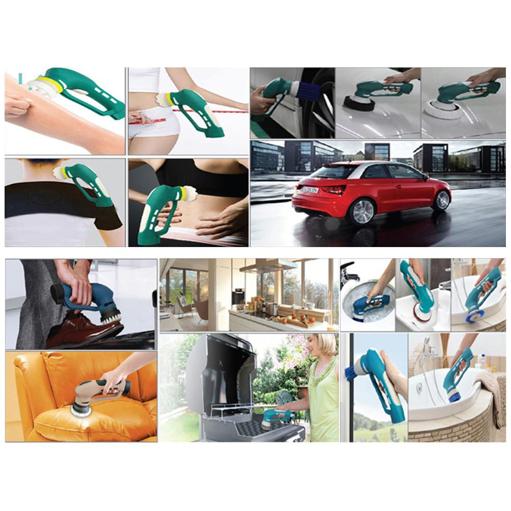 Image 2 - NEW Style Multi functional Auto Beauty Polishing Machine Waxing Polisher Wireless Charging Kitchen Cleaner Car Washing Machine-in Automotive Polishing Machine from Automobiles & Motorcycles