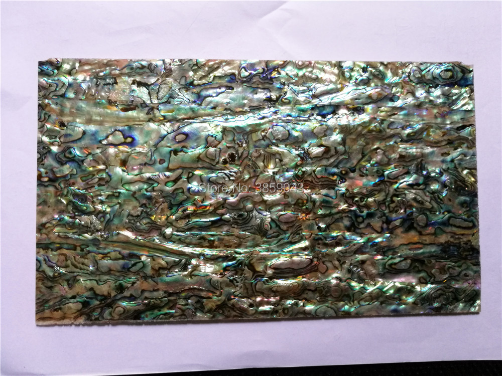 2mm Thick AA Grade Abalone Paua Shell Laminate Sheet For Guitar And Wood Inlay Qch208