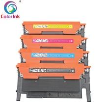 ColorInk 1 Pack Совместимость CLT-K404S тонер-картридж для samsung C430 C430W C433W C480 C480FN C480FW C480W принтер комплект тонера