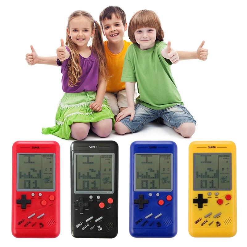 MIni Classic Tetris Vedio Game Console Student Handheld Classic Nostalgic Puzzle Handheld Pocket Game Player Built-in 26 Games