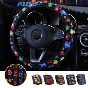FORAUTO Car Steering Wheel Cov