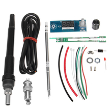 Hot DIY Electric Unit High quality Basic Ability Practical Digital Soldering Iron Station Temperature Controller Kits T12 Handle