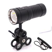 SOLLED Professional 3 Color Underwater Photography Video Light Diving Flashlight
