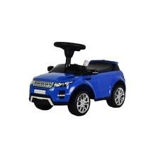 Машина-каталка Land Rover голубая