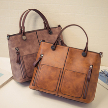 Vintage Handbags Women leather Bags Female Totes For Shopping Large Capacity Quality Shoulder Bag handbag bolsa bolsos mujer sac