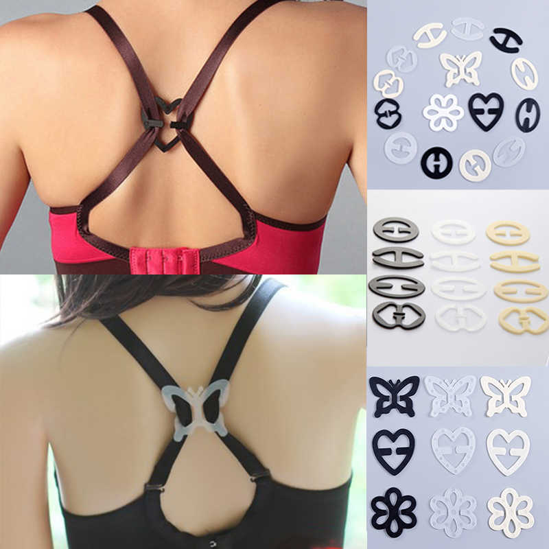 Hot Sale Underwear Fasteners Hot Sale Popular Shadow 3Pcs/set Bra Buckle Fashion Bra Buckles Strap Holders Invisible Bra Clips